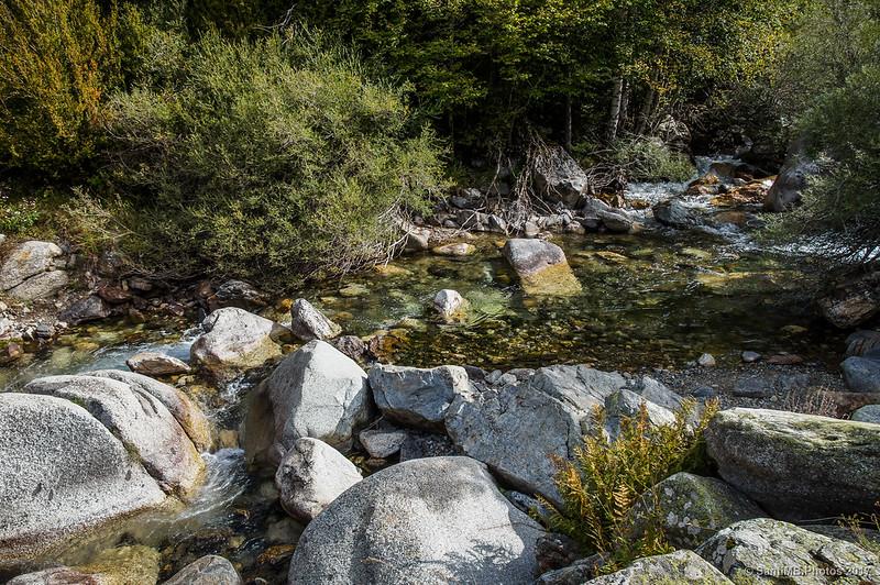 El río Sant Nicolau a la altura de la Palanca de Pei