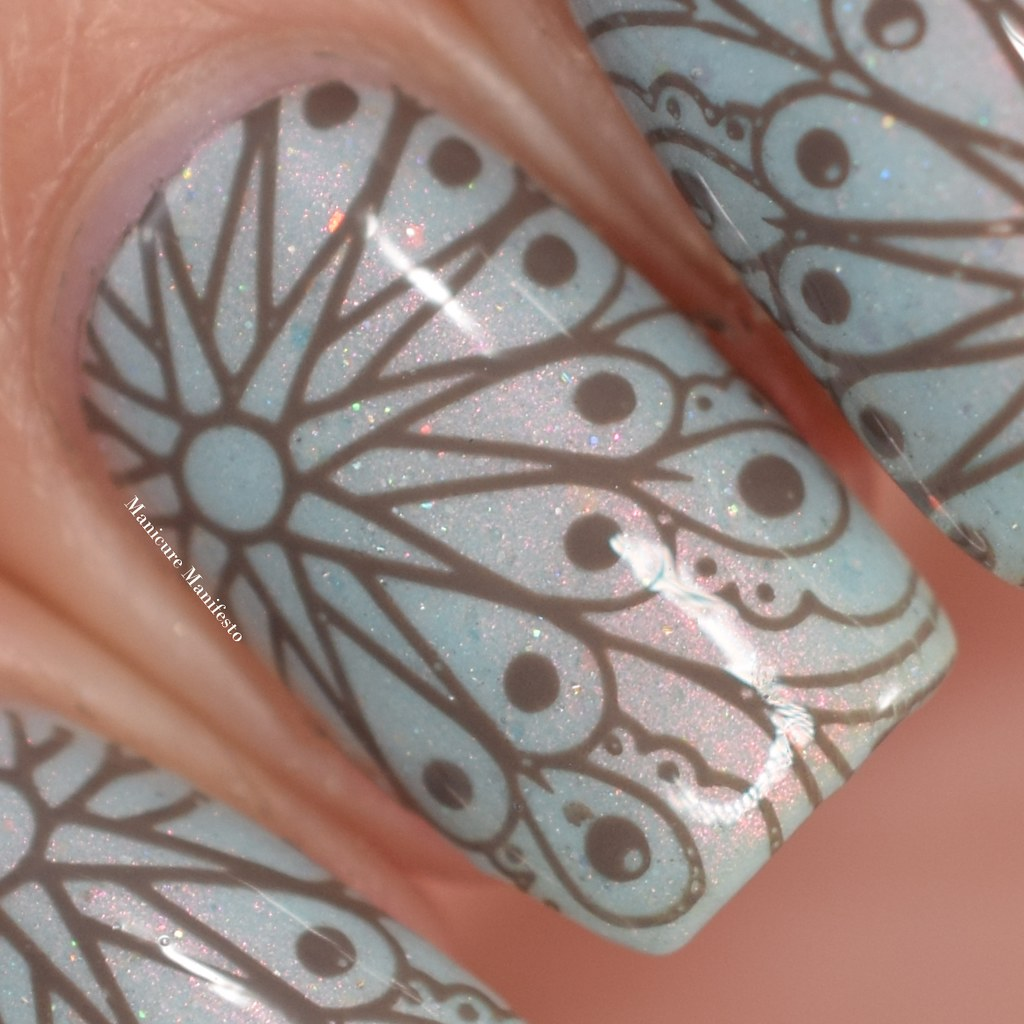Girly Bits Walnuts About You stamping polish