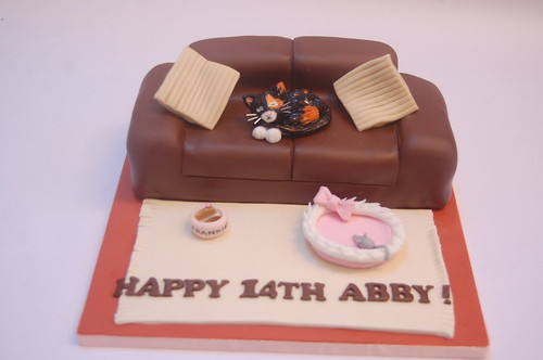 Abbys Cat Cake Beautiful Birthday Cakes