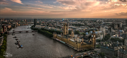 Image taken from the London Eye