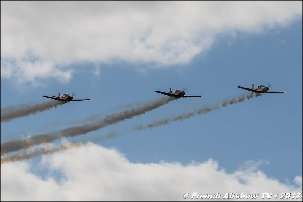 patrouille-swift , PATROUILLE SWIFT , Globe GC-1B Swift , Legend Air en Limousin 2017 , aérodrome de Saint Junien 2017 , Meeting Aerien 2017