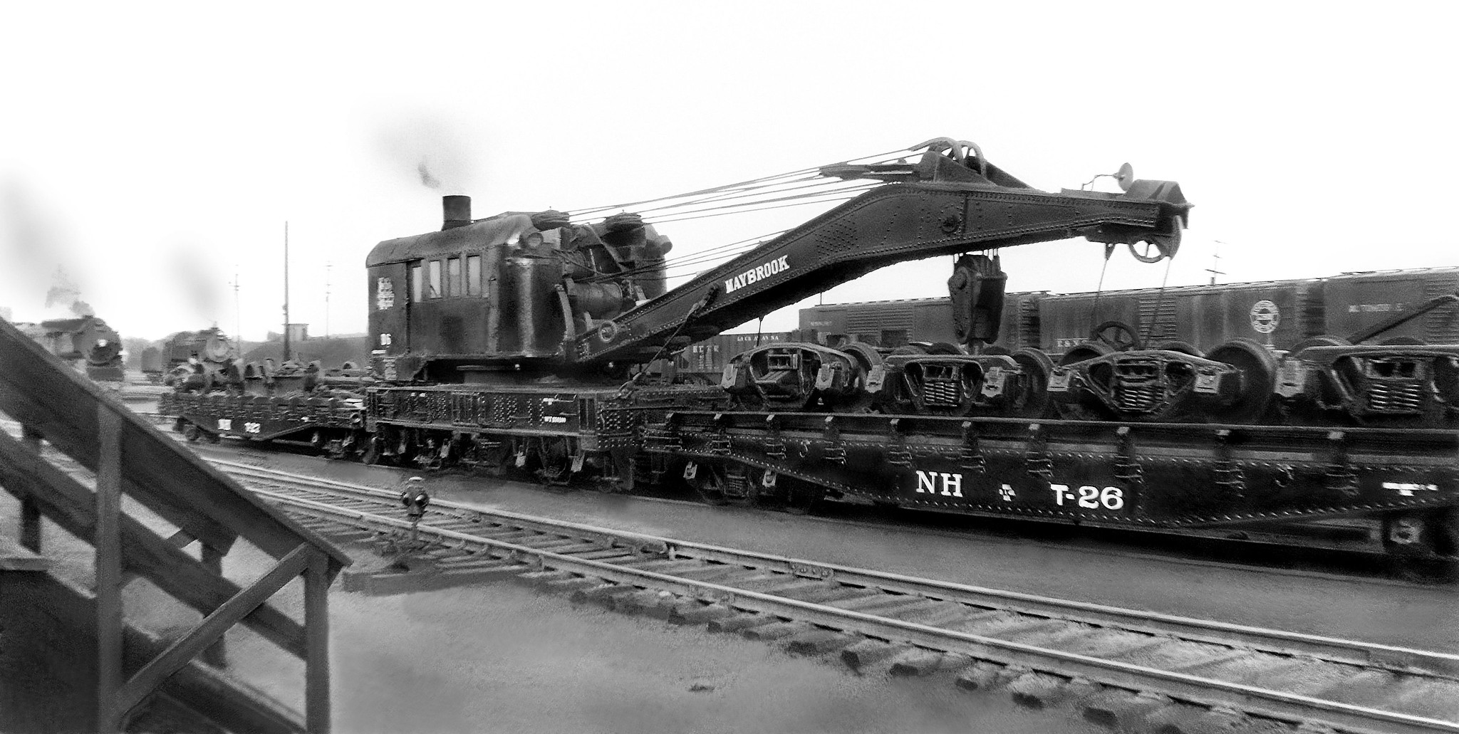 New Haven Railroad Derrick D-6 (The Maybrook Hook), with