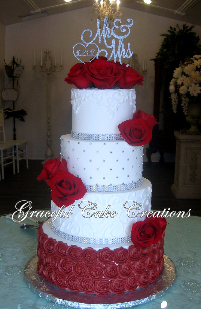 Wedding Cakes For You Red Velvet