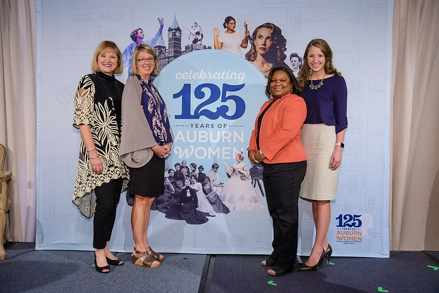 Pictured, from left, are Deborah Lowry, Cindy Holland Torbert, Danyelle Hillman, and Jacqueline Keck.