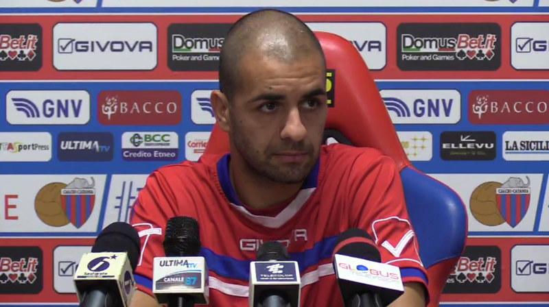 Cristian Caccetta, oggi in conferenza stampa a Torre del Grifo