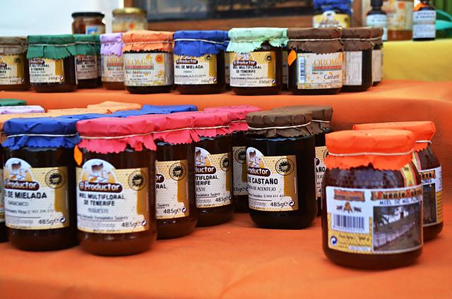 Tenerife honeys
