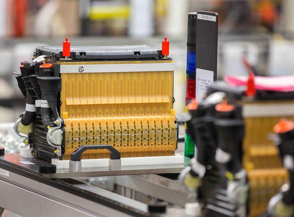 圖為雪佛蘭Spark(Chevrolet Spark)的電池,中國急需建立完善的系統回收利用這些舊電池。來源:GM