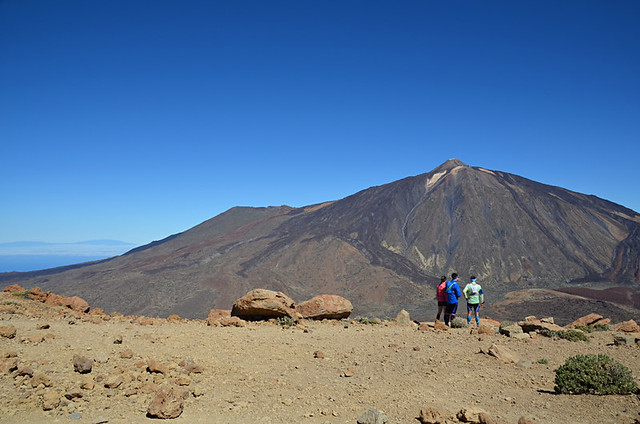 Teide from Guajara, Teide National Park, Tenerife