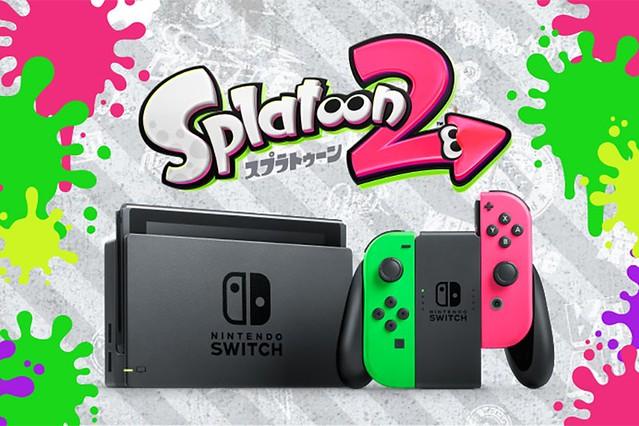 Switch-Joy-Con-Neon-Green-Pink