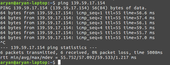 ping-success-after-reboot