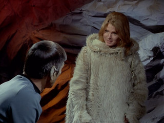 "Leonard Nimoy, Mariette Hartley, Star Trek TOS, ""All Our Yesterdays,"" 1969 