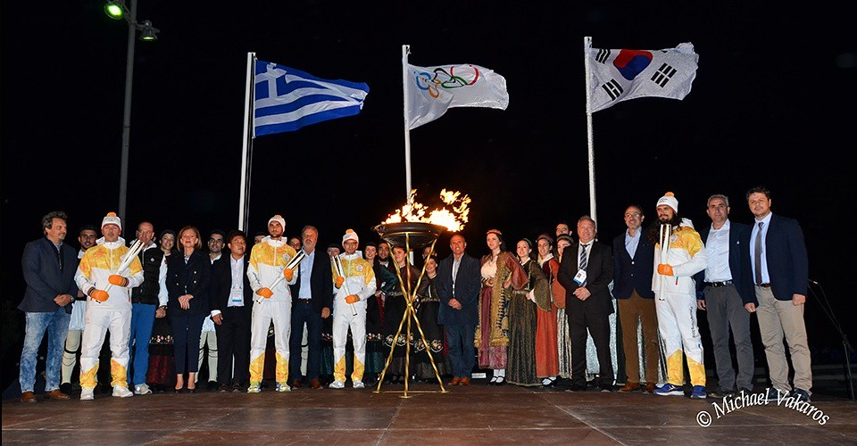 Ευχαριστίες για την υποδοχή και τη φιλοξενία της Ολυμπιακής Φλόγας - Ιδιαίτερη η συμβολή της «Καλλιπάτειρας»
