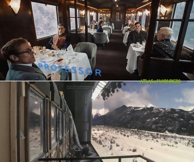 Orient Express Movie locations
