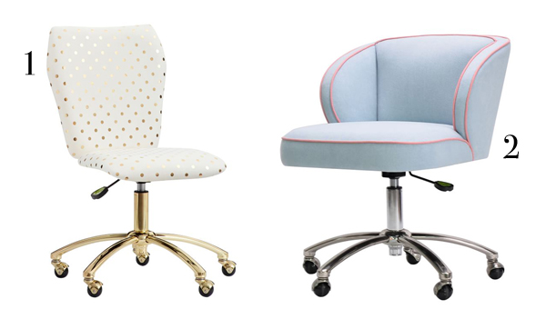 pbteen desk chairs