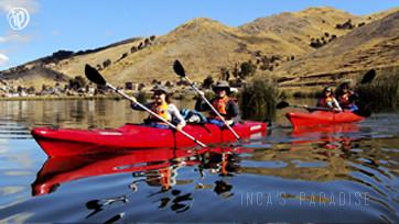 Kayak Lago Titicaca ½ Día