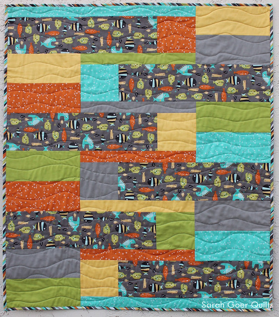 Baby Quilt Patterns.New Release Back And Forth Baby Quilt Pattern Sarah Goer Quilts