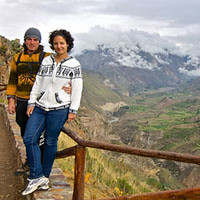 COLCA TREK - HIKING IN THE COLCA CANYON - AREQUIPA SHARED TO