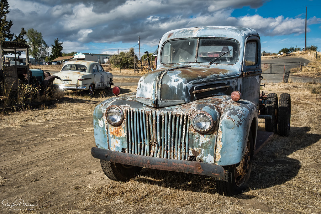 Old Classic Ford Pickup Truck | Terrebonne, Oregon Image bes… | Flickr