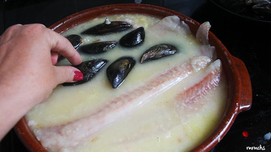 receta abadejo con clochina Valenciana