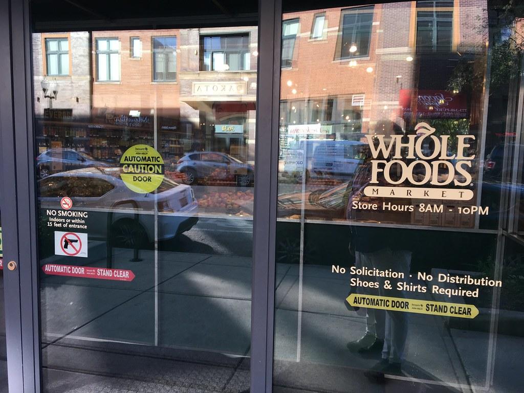 Whole Foods No Smoking No Guns Eric Fischer Flickr