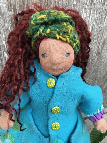 Harriet - 31cm Natural Fiber Art Doll
