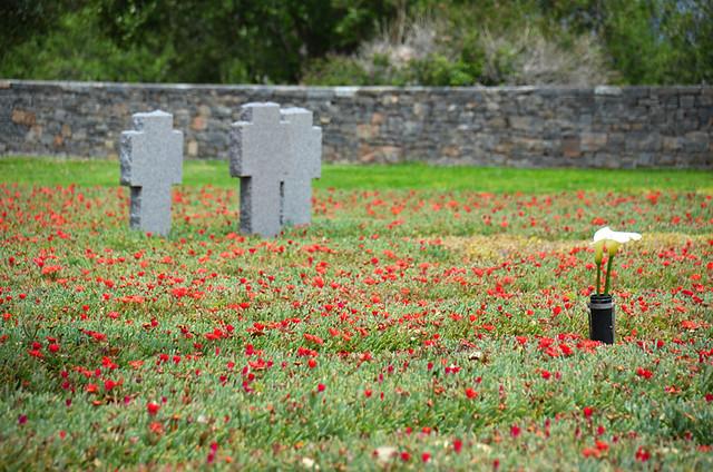 Maleme cemetery, Crete, Greece