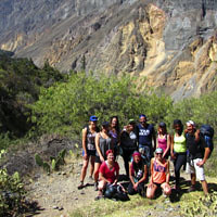 TREKKING FOR THE COLCA CANYON IN AREQUIPA 2D / 1N