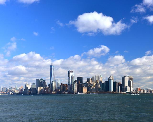 El precioso skyline de Nueva York