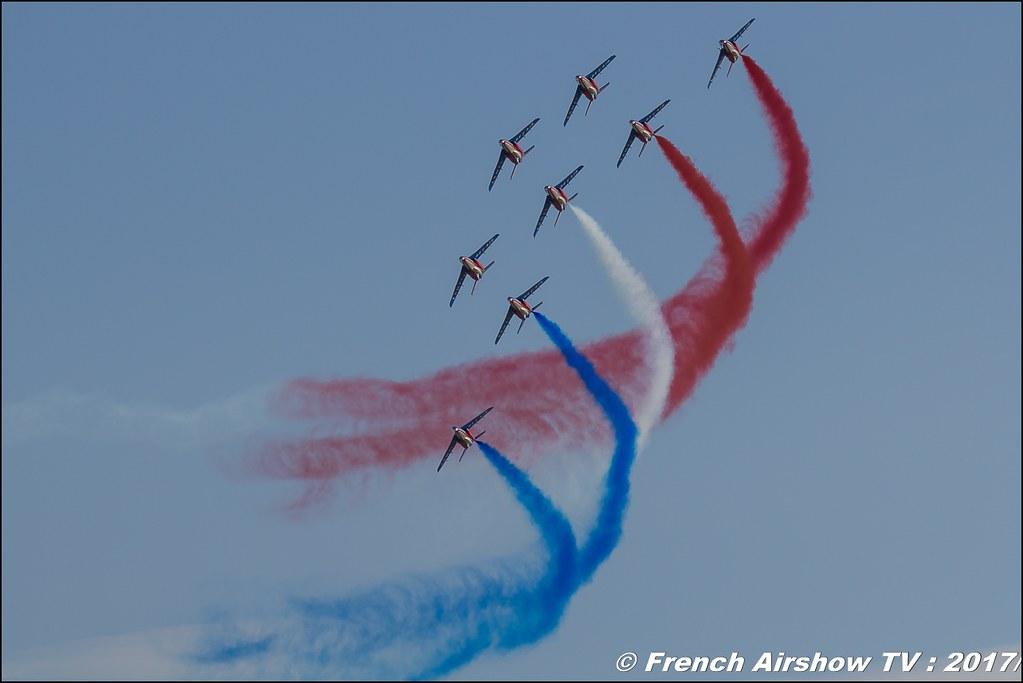 Patrouille de France , patrouille acrobatique officielle de l'Armée de l'air française , Alpha Jet , Avignon Air Show 2017 , Aéroclub Vauclusien , avignonairshow2017 , Meeting Aerien 2017