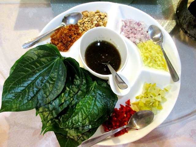 Flavours Thai Kitchen miang kham