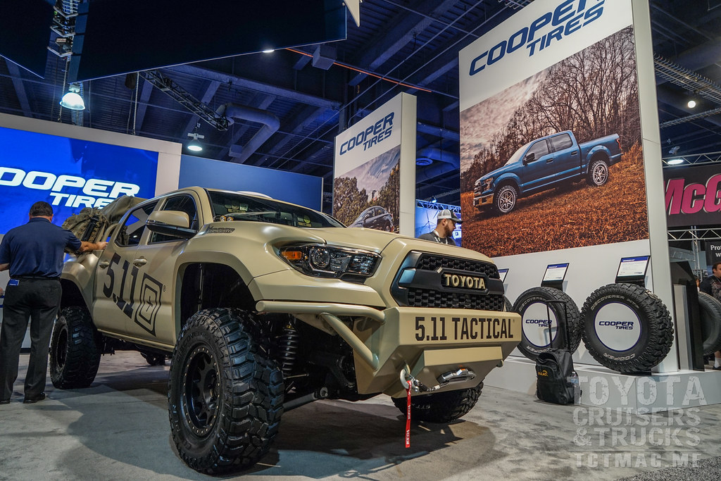 SEMA Show 2017 Cooper Tires 5.11 Tactical Tacoma