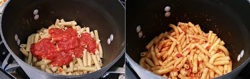 Pasta with Cavey's Italian Sauce