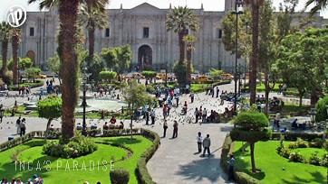 Plaza principal de Arequipa