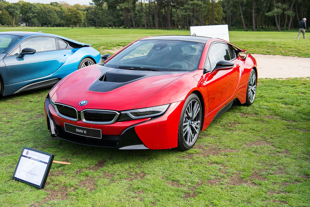 Bmw I8 Protonic Red Edition Engine 1 499 Cc 3 Cylinder 3 Flickr