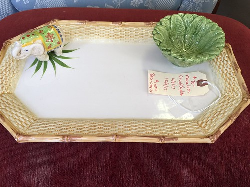 Mane lion crudités plate $70 | by Ellaway's Attic