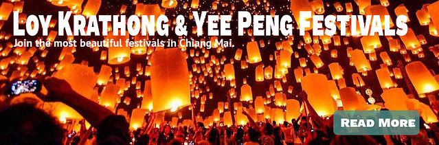 Link Loy Krathong and Yee Peng Festivals