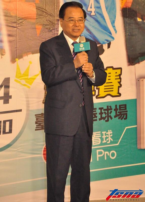 中華民國棒球協會理事長廖正井。(資料照,張哲郢/攝)