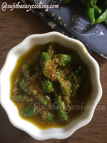 Green chilli pickle | by sujism_msc