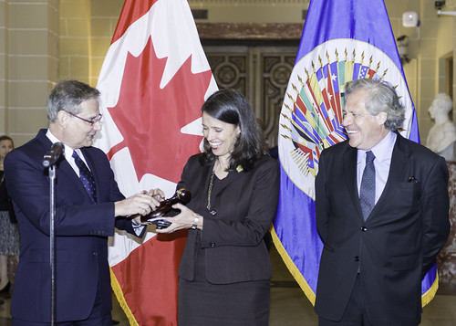 Canada Assumes Chair of the OAS Permanent Council