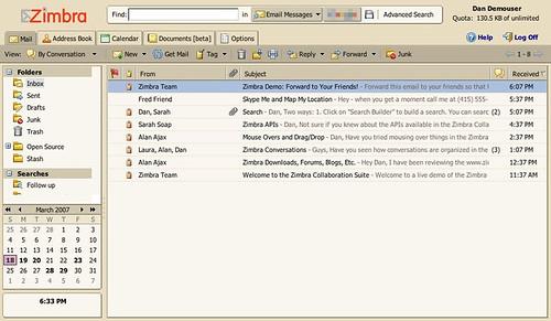 gmail-zimbra