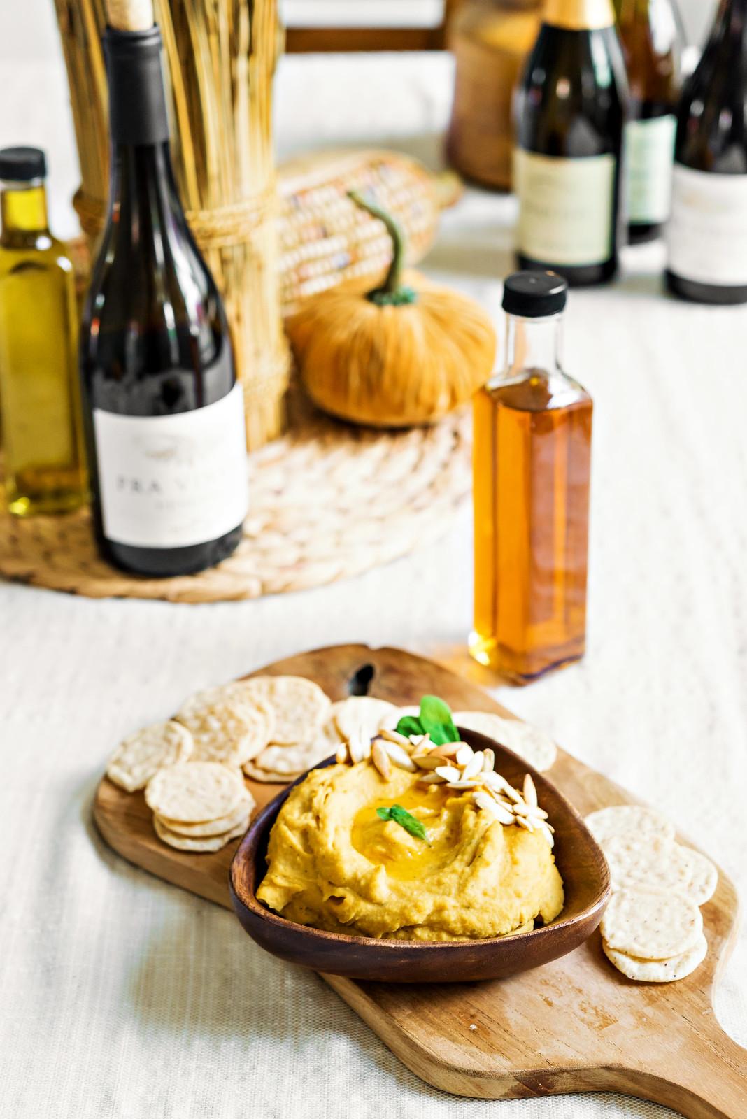 Butternut Squash and Sage Hummus