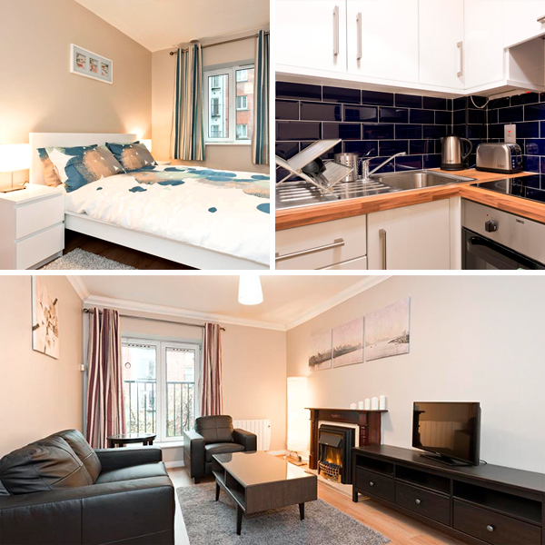 Apartamento perfecto donde dormir con niños en Dublín