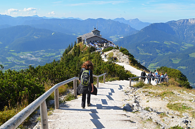 Walking to the Eagle's Nest, Bavaria