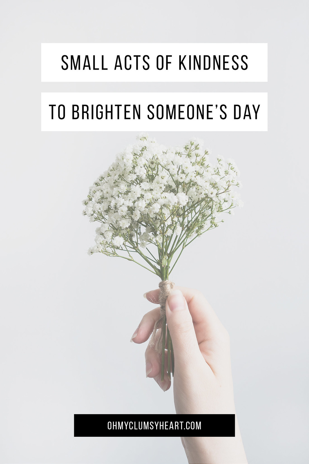 Small Acts Of Kindness To Brighten Someone's Day