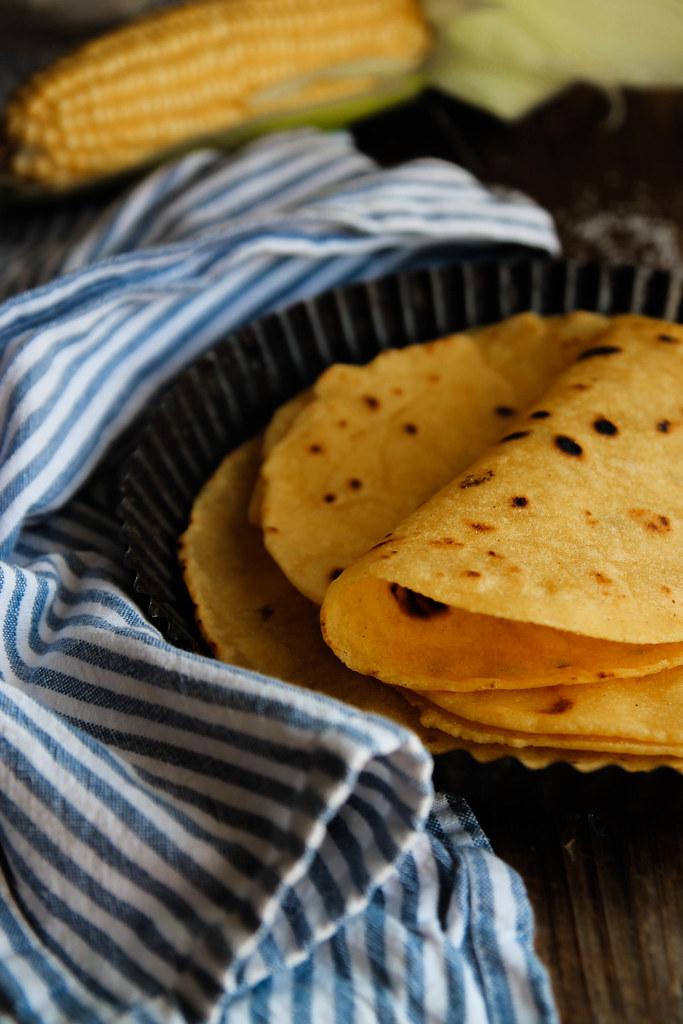 Tortilla de maïs maison