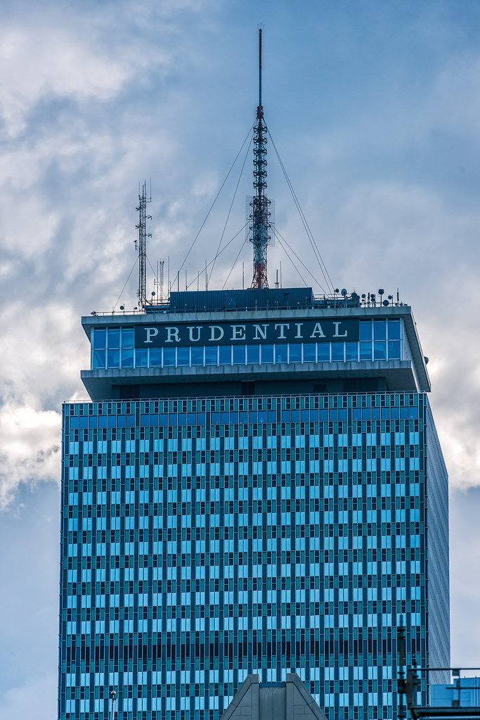 Prudential Tower Boston Ma The Prudential Tower Also
