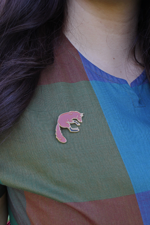 mulberry chronicles fox pin