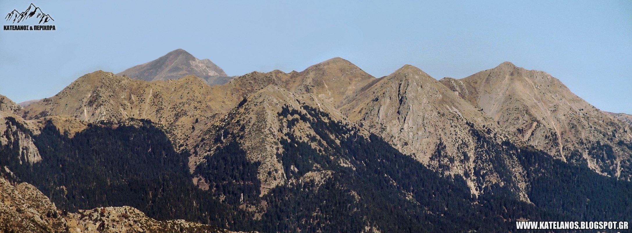 πλατανακι βουνο πλατανι παναιτωλικου ορους