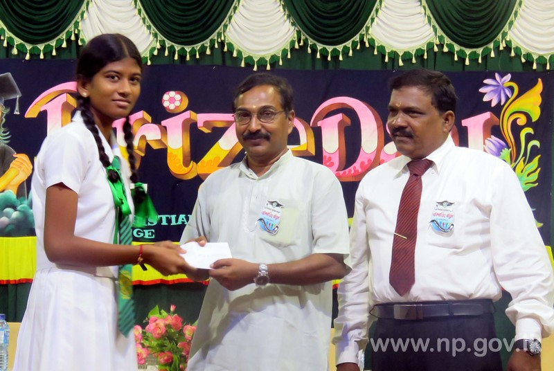 Education minister participates as Chief Guest at KCC Prizing Giving