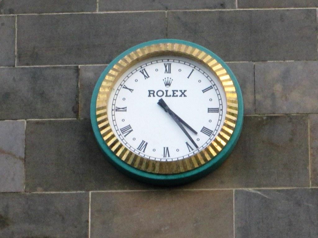 St Andrews Rolex Clock